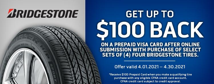 Bridgestone Online Rebate