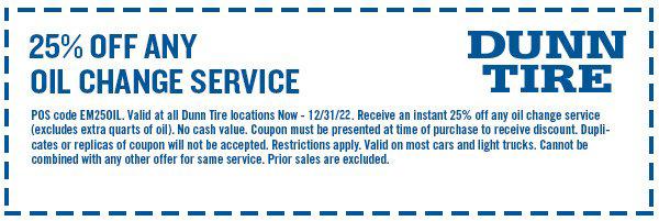 Service Reminder Deals