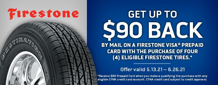 Firestone Online Rebate