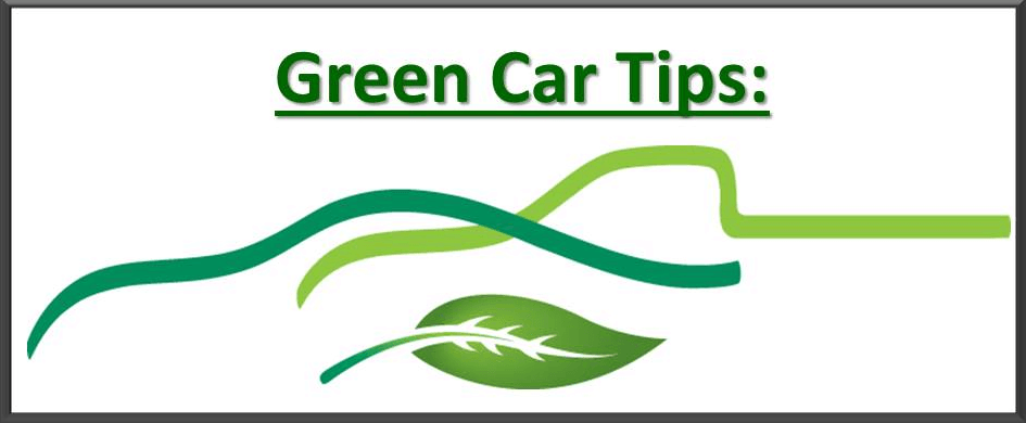 Green Car Care Tips Banner